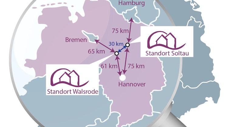 Heidekreis Klinikum - Standortkarte