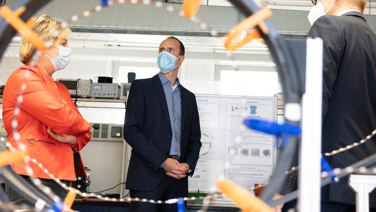 """Hochschule Trier """"Besuch des Wissenschaftsministers Clemens Hoch"""""""