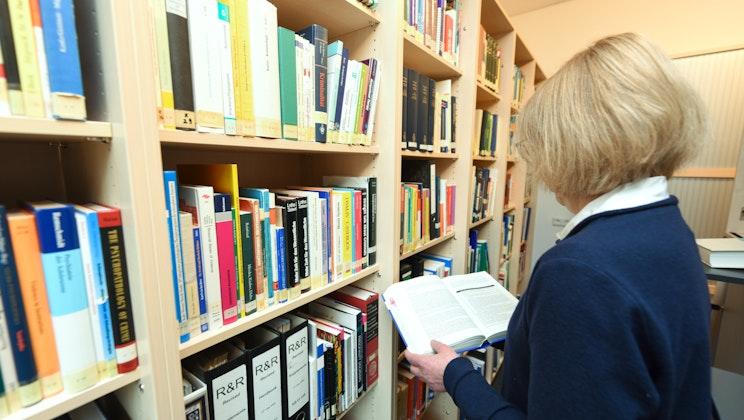 Vitos Klinik für forensische Psychiatrie Haina - Bibliothek