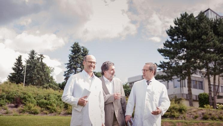 Wicker-Kliniken - Gespräch, Ärzte, Außenbereich